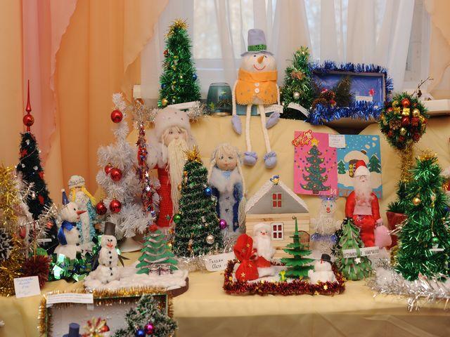 Поделки к новогодней выставки
